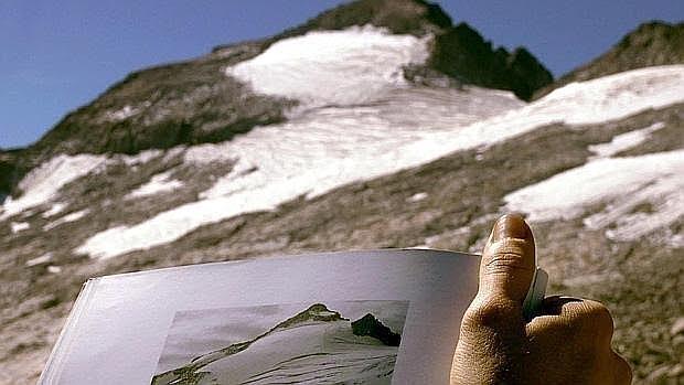Cambios en el glaciar del Aneto por cuasa del calentamiento global
