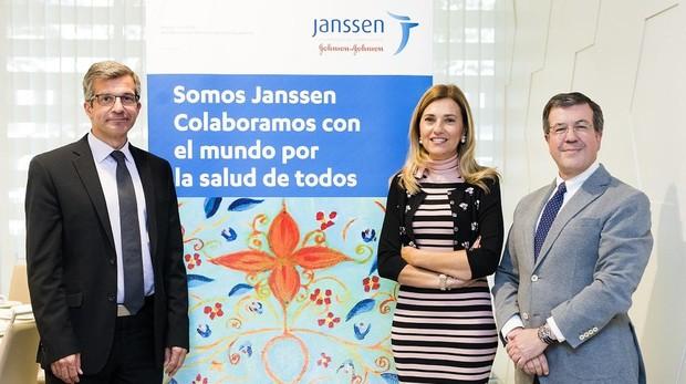 Antonio Férnandez, María Victoria Mateos, y Miguel Ángel Calleja.