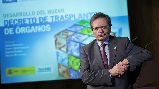 El director de la Organización Nacional de Trasplantes, Rafael Matesanz