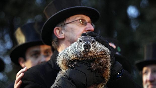 Celebración del Día de la Marmota en Pensilvania