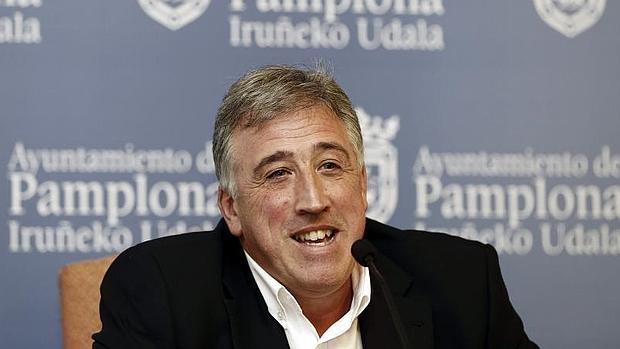 El alcalde de Pamplona, Joseba Asiron (EH Bildu)