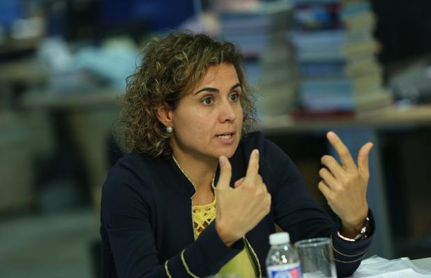 Montserrrat, durante un debate celebrado en la sede de ABC