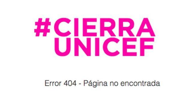 Hashtag con que UNICEF ha revolucionado las redes sociales y en torno al que gira su nueva campaña publicitaria