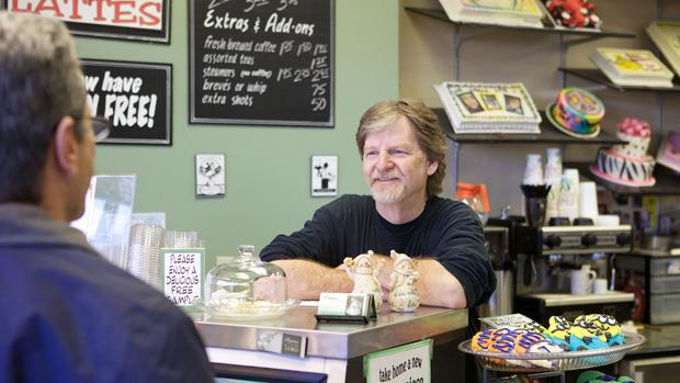 El pastelero Jack Phillips, en imágenes de la «Alliance Defending Freedom»