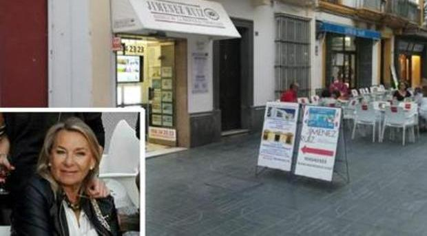 María Esperanza Jiménez tenía una importante inmobiliaria en el centro del Puerto de Santa María (Cádiz)