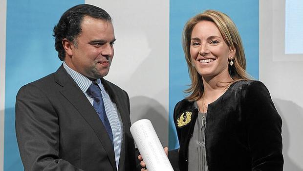 Fotografía de archivo de Fernando de Yarza López Madrazo (a la izquierda)