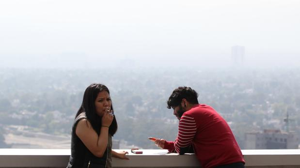 Ciudad de México, un horizonte invisible por el alto nivel de polución