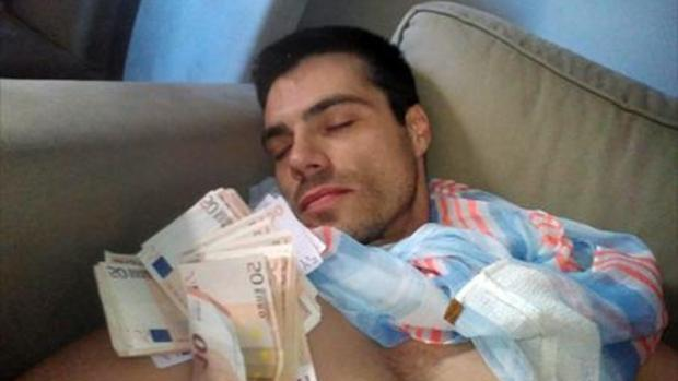 Albert Cavallé, en una de las fotos que muestra en sus redes sociales