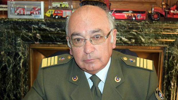 Miguel Reyes Núñez, presidente de los bomberos en Chile