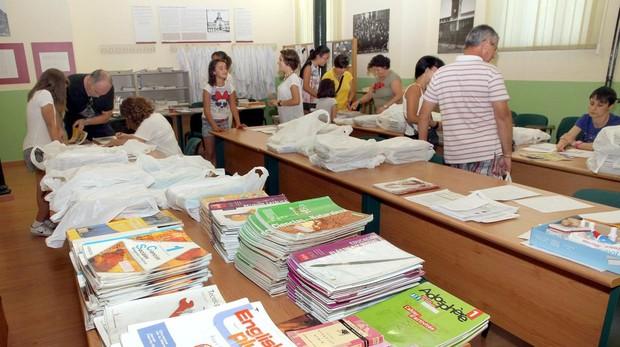 Sistema de préstamo de libros en un colegio de Palencia
