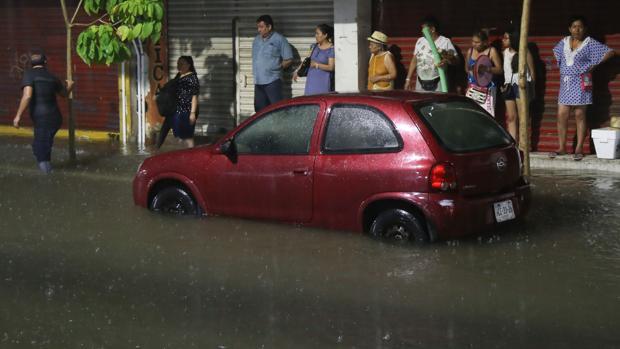 El huracán Rosa ha dejado fuertes lluvias en México