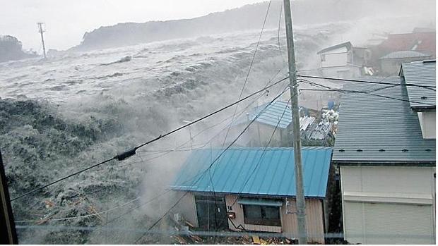 Asombrosa imagen del tsunami de Japón en 2011
