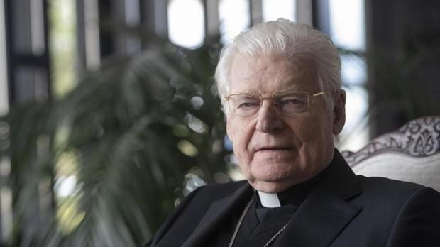 Cardenlal y arzobispo emérito de Milan Angelo Scola