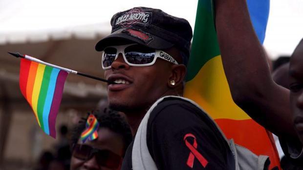 Marcha en Nairobi en el día de la lucha mundial contra el sida