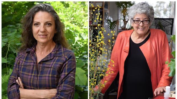 Joanne Chory y Sandra Myrna Díaz