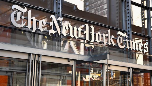 La sede de «The New York Times»