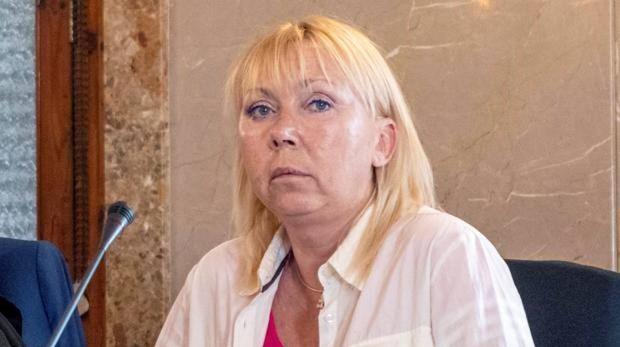 Imagen de Svetlana B. durante el juicio