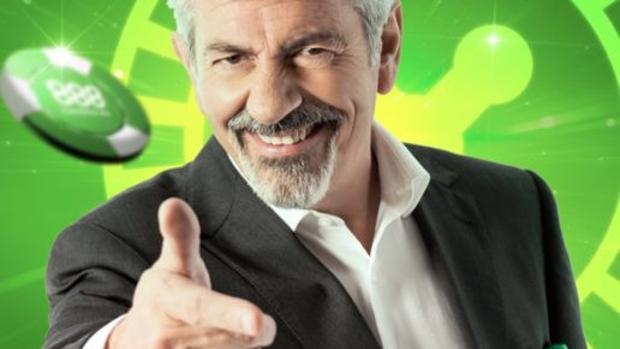 Carlos Sobera. en una captura de pantalla del anuncio que protagoniza de una casa de apuestas