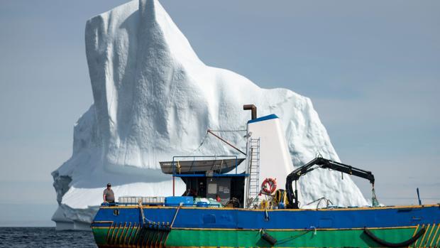 Resultado de imagen para caza icebergs agua