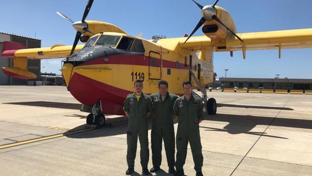 Los pilotos del Ejército del Aire destinados a Gran Canaria