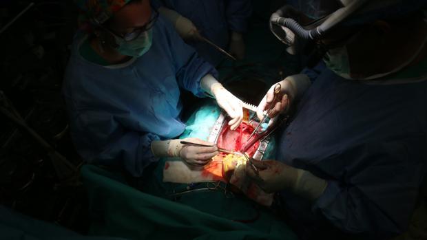 Cirugía de trasplante cardiaco