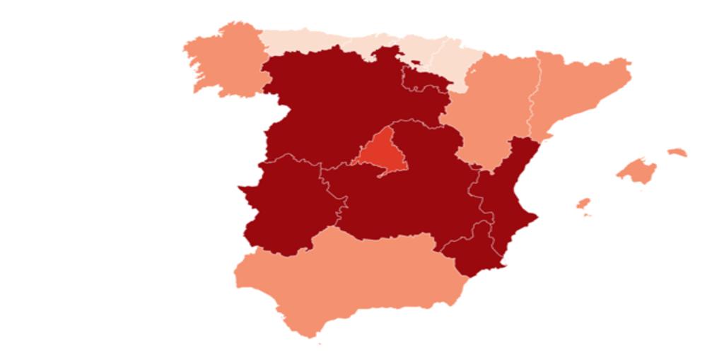 Confinamiento domiciliario | España registra tasas de incidencia que Bruselas recomendaría confinar