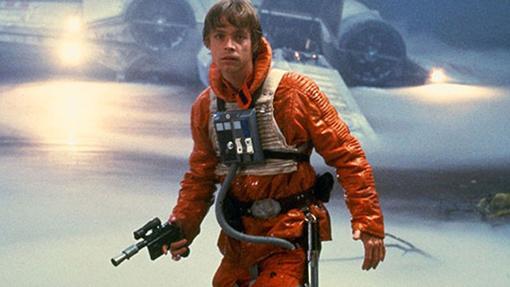 Luke Skywalker en una escena de «El imperio contraataca»
