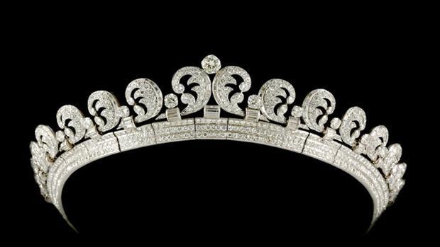 La tiara Halo fue la elegida pr la duquesa de Cambridge