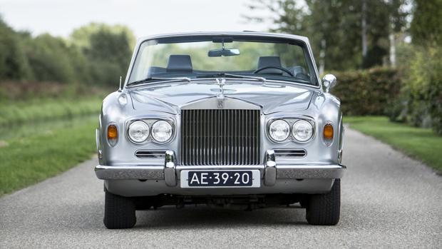 El Rolls Royce Silver Shadow Convertible del boxeador