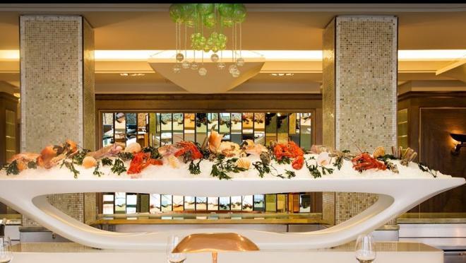 Interior del restaurante Scott´s en Londres
