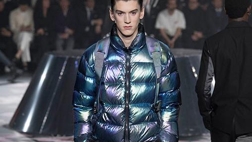 Modelo de la colección pre fall de Dior Homme 2019