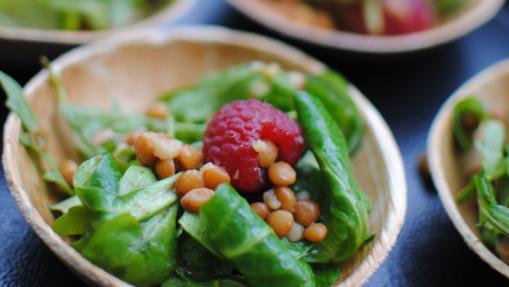 La ensalada de invierno de Belleberry Catering