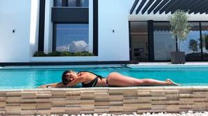 Georgina Rodríguez y la sexy campaña de baño a la italiana