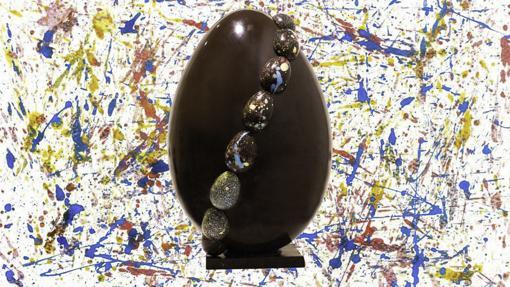 El huevo de chocolate Grand Cru XXL de Flor D'KKO (80 euros)