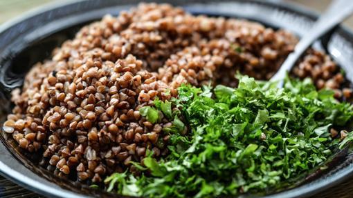El trigo sarraceno es otra buena fuente vegetal de proteínas