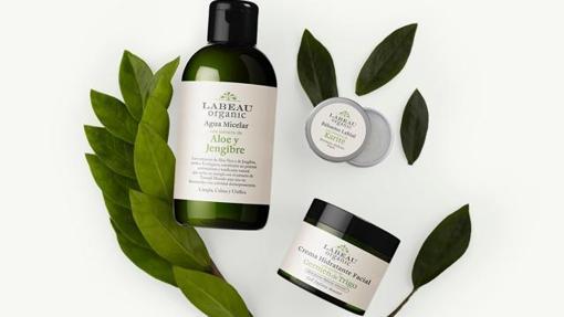 Algunos de los productos de Labeau Organic