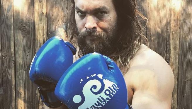 Jason Momoa nunca dejó de boxear