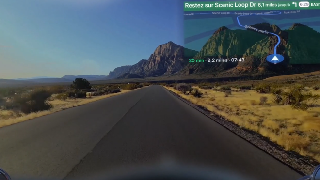 EyeRide HUD, el futuro de los cascos de moto es inteligente