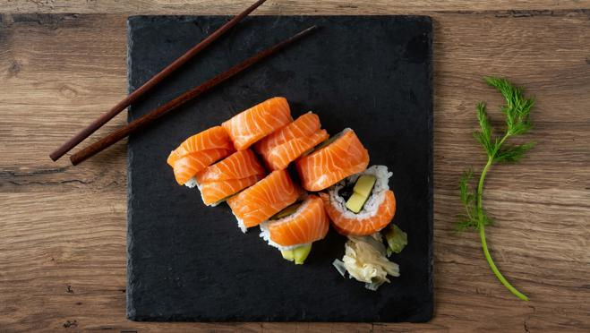 Salmon sushi wasn't invented in Japan