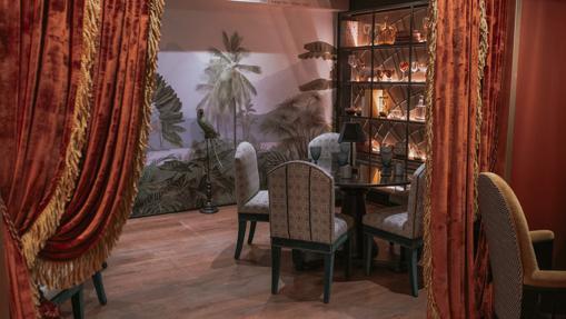 One of the spaces of the new restaurant La Mentira de Grupo Mentidero