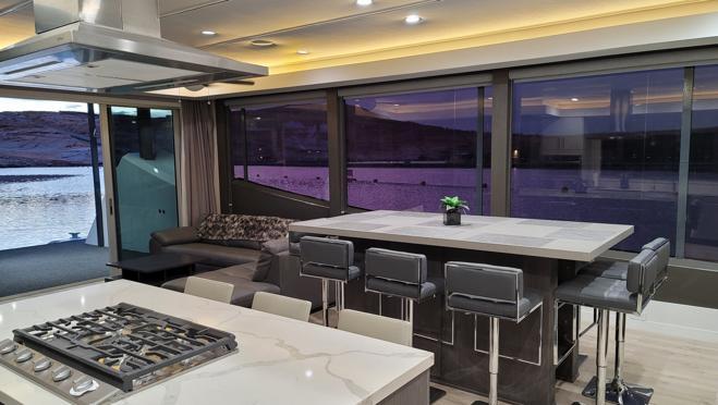La embarcación ha sido diseñada por J. Davis Weiss
