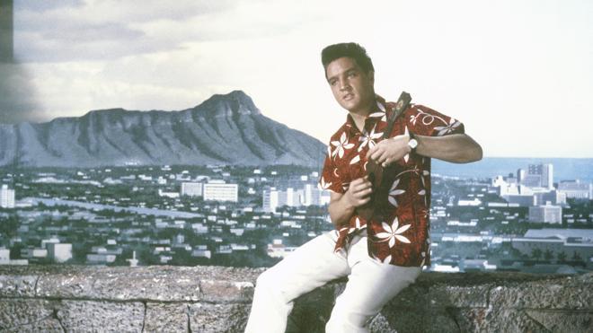 Elvis Presley en 'Blue Hawaii' (1961)