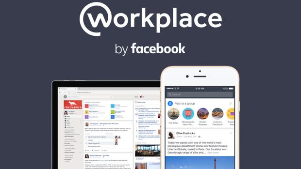Facebook lanza Workplace