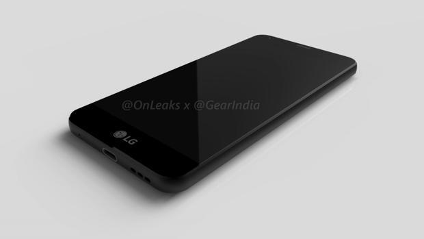 Imagen filtrada del LG G6
