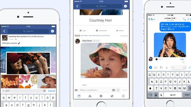 Facebook permite (poir fin) a los usuarios poner animaciones GIF en los comentarios