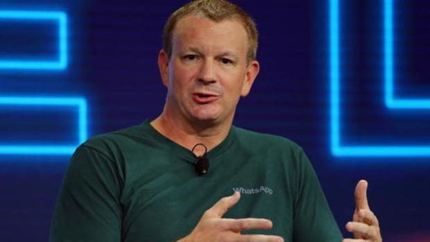 Brian Acton, cofundador de WhatsApp, en una imagen de archivo