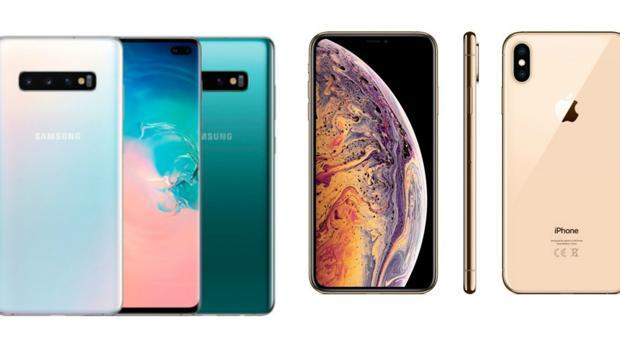 9bd220c7279 El Samsung Galaxy S10 frente al iPhone XS: ¿cuál es mejor?