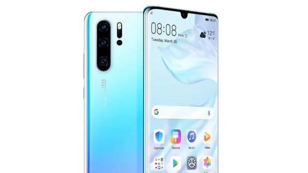 Detalle del Huawei P30 Pro