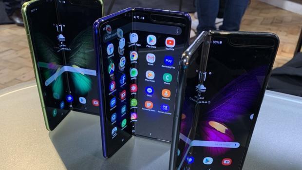 Prototipos del Samsung Galaxy Fold