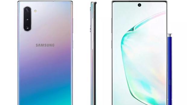 Samsung Galaxy Note 10, un «smartphone» sin grandes sorpresas respecto al S10